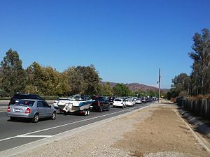 California State Route 142 - Carbon Canyon road at the Brea side