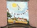 Bad Leonfelden Maria Bründl - Fassade 4 Sonnenuhr.jpg