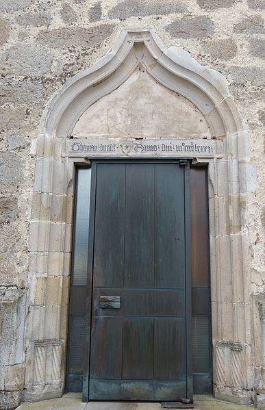 File:Bad Leonfelden Pfarrkirche - Nordportal 1.jpg