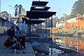 Bagmati River, Pashupatinath, Nepal バグマティ川とパシュパティナート火葬場 5734.JPG
