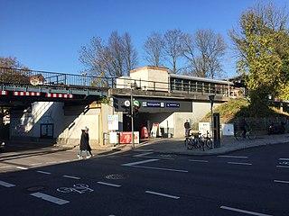 Wellingsbüttel station railway station in Hamburg, Germany