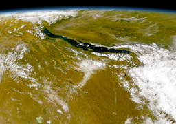 Lake Baikal as seen from the OrbView-2 satellite
