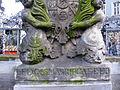 Bamberg - Neptunbrunnen auf dem Grünen Markt (Inschrift).jpg