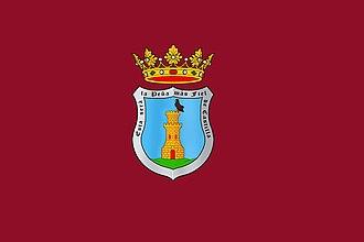 Peñafiel Castle - Image: Bandera de Peñafiel