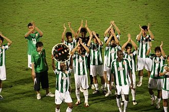 Bangkok Glass F.C. - Bangkok Glass winning the Super Cup 2009