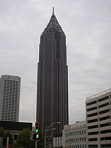 Bank Of America Plaza The Tallest Building In Atlanta