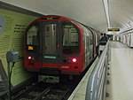 Bank station Waterloo & City line train.JPG
