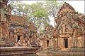 Banteay Srei, chef-dœuvre de lart khmer (6883239943).jpg