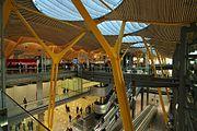 Terminal 4 at Madrid Barajas Airport