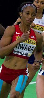 Barbara Nwaba American track and field athlete