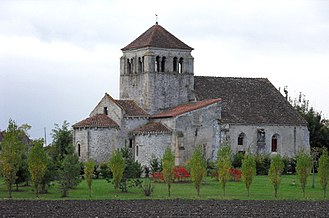 Barberier - The old Church of Saint André
