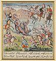 Barham Gur kills the dragon that had killed his youth Wellcome L0068893.jpg