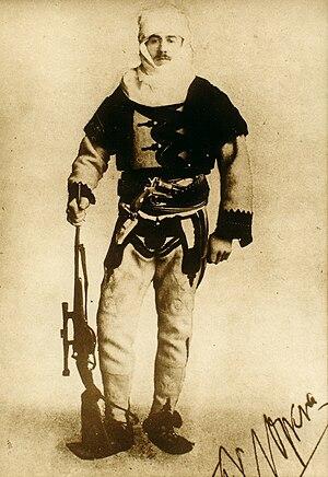 Franz Nopcsa von Felső-Szilvás - Image: Baron Franz Nopcsa in Albanian uniform