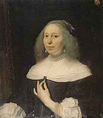 Portrait of Wilhelmina van Bronckhorst