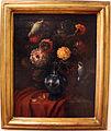 Bartolomeo bimbi, vaso di fiori con due uccelletti grigi e neri.JPG