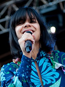 Bat for Lashes performing at the 2013 Way Out West