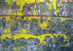 Battle of Adwa tapestry at Smithsonian