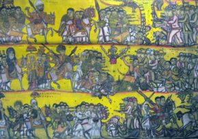 Battle of Adwa tapestry at Smithsonian.png