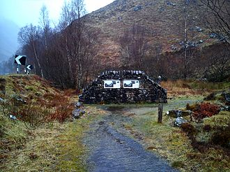 Battle of Glen Shiel - Battle of Glen Shiel Memorial, Glen Shiel