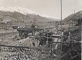 Bau des Kraftwerks Islas 1932.jpg