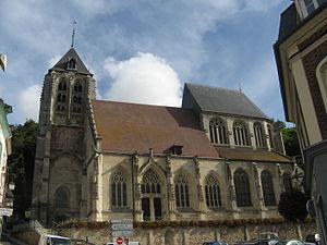 Beaumont-le-Roger - The Church Saint-Nicolas (2010)