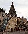 Beaune - les remparts - La tourelle de la grosse tour - 005.jpg