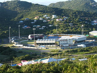 Caribbean Premier League - Image: Beausejour Stadium Cricket St Lucia