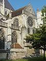 Beauvais (60), église Saint-Étienne, croisillon nord, vue depuis le nord-est.JPG