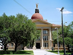 Bee County Courthouse i Beeville.