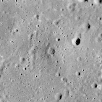 Beer crater lunar dome AS15-M-1144
