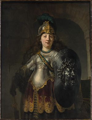 Bellona, by Rembrandt.