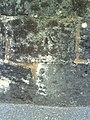 Benchmark on wall outside ^2 Abingdon Road - geograph.org.uk - 2068038.jpg
