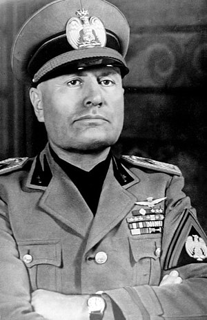 Benito Mussolini cover