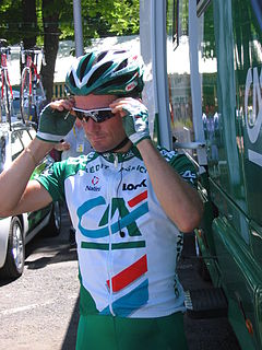 Benoît Salmon French cyclist