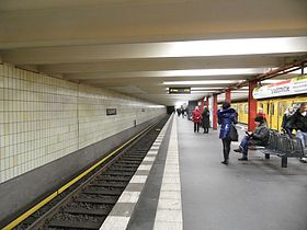 image illustrative de l'article Stadtmitte (métro de Berlin)