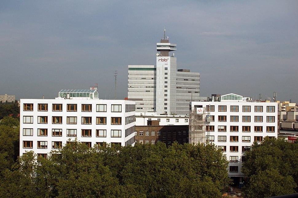 Berlin rbb Gebaeudekomplex