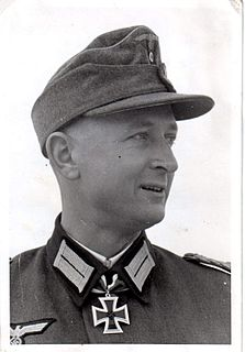 Bern von Baer German general and Knights Cross recipient