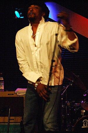 Bernard Fowler - Bernard Fowler in Vienna, 2007