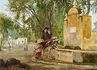 Bernardo Ferrándiz Bádenes - Image: Bernardo Ferrándiz The Priest