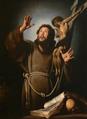 Bernardo Strozzi - St. Francis in ecstasy.png