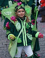 Participant in the Bernese Carnival 2010