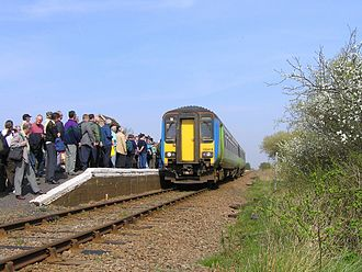 Berney Arms railway station - Image: Berney Arms on a busy day