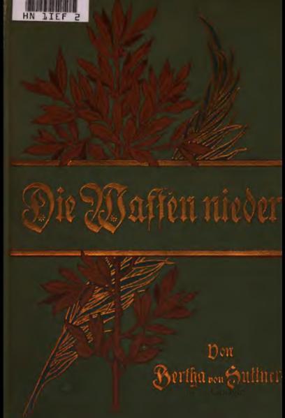 File:Bertha von Suttner – Die Waffen nieder! (Band 1).djvu