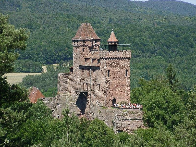 Burg Berwartstein bei Erlenbach bei Dahn