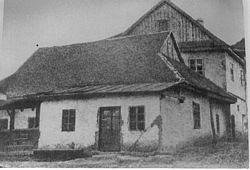 """תמונת בית הכנסת הבעש""""ט זי""""ע, מלפני ה'תרע""""ה"""