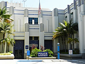 Beverly Hills Police Department - Image: Beverly Hills Police Department, 464 N Rexford Drive, Beverly Hills 24402700404