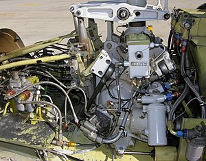 Bell 222/230 - Transmission installation in a 222U