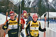 Biathlon WC Antholz 2006 01 Film5 MassenDamen 1A