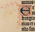 Biblia de Gutenberg, 1454 (Letra E) (21646453938).jpg