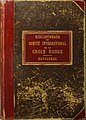 BibliothèqueDuComitéDeLaCroixRouge PremierCatalogue GustaveMoynier.jpg